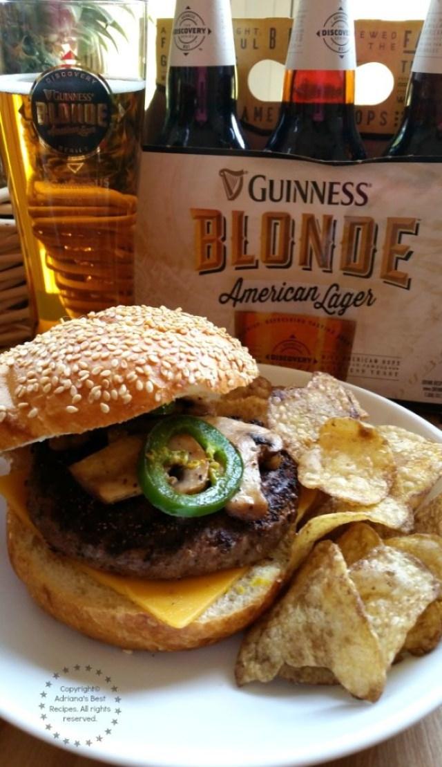 Grilling Beef Tenderloin Burgers for the Summer #BlondeBBQChallenge #ad