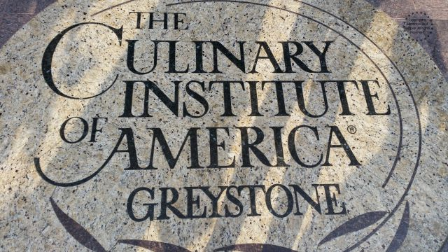 Entrance to the Culinary Institute of America at Greystone #LittleChanges