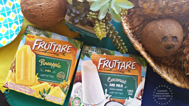 Fruttare frozen fruit bars are a delicious line of frozen fruit bars made with real fruit you can taste #FruttareLife  #ad