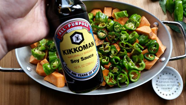 Kikkoman soy sauce for me is a great partner in my kitchen because of its versatility #KikkomanSaborLBC #ad