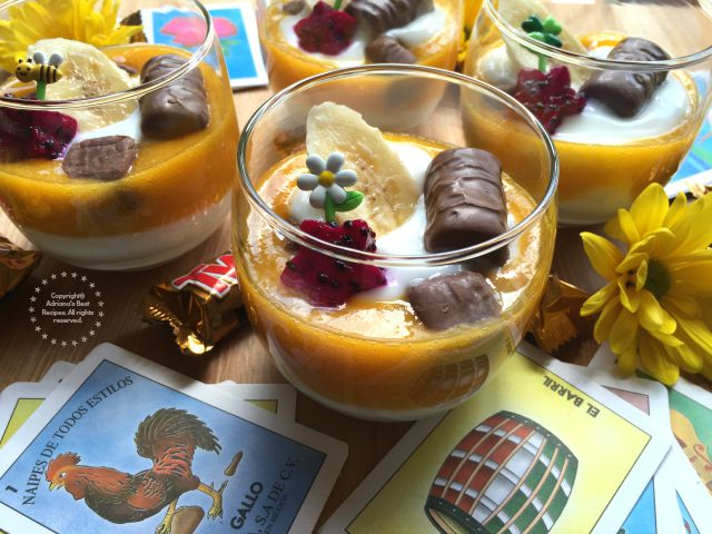 Tropical Parfait For La Merienda Adriana S Best Recipes