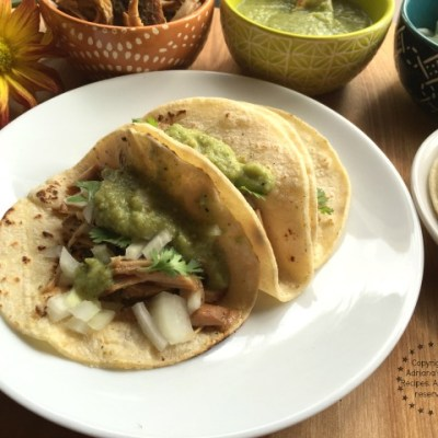 Lean Carnitas Tacos Recipe