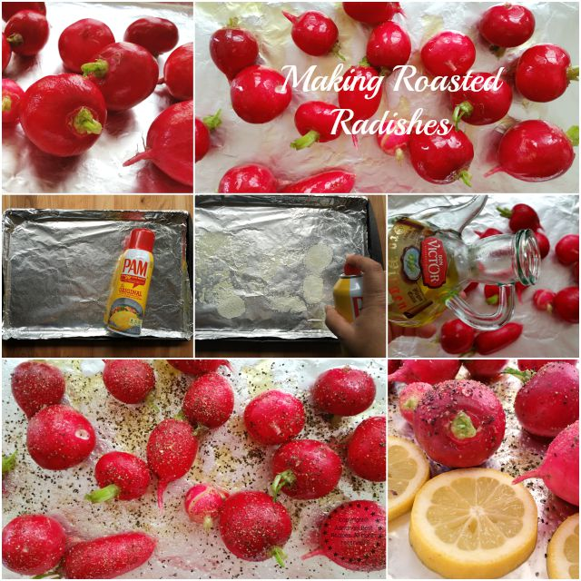 Making roasted radishes #ABRecipes