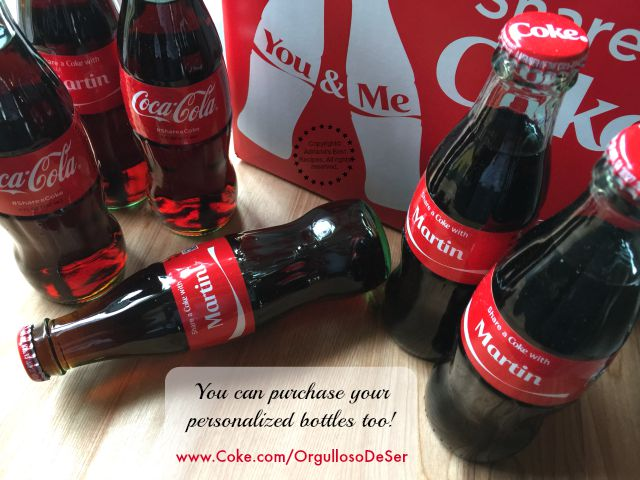 You can purchase your personalized bottles too #OrgullosoDeSer #ad