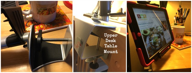 The Upper Desk Table Mount saves me space in my office desk #UpperDesk #ad