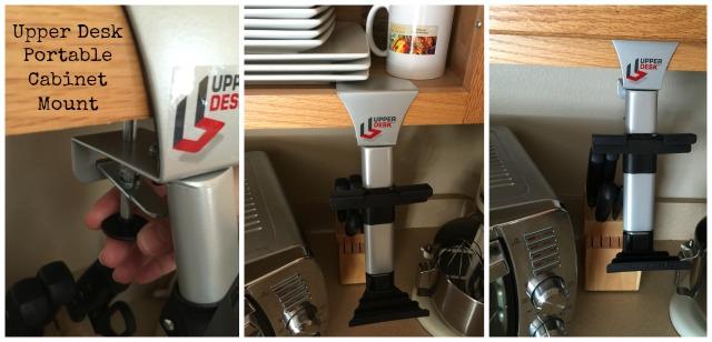 Upper Desk Portable Cabinet Mount very easy to install #UpperDesk #ad