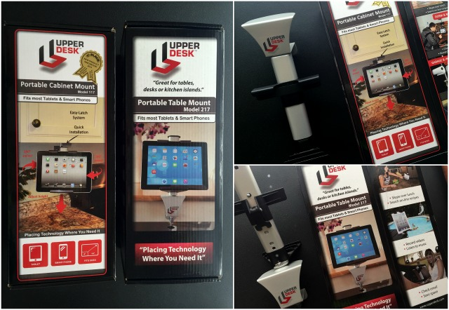 Upper Desk Portable Mounts Review #UpperDesk #ad