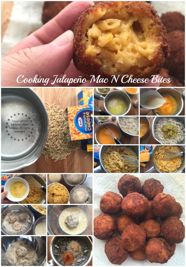 Cooking Jalapeño Mac N Cheese Bites #EasyKraftMeals AD