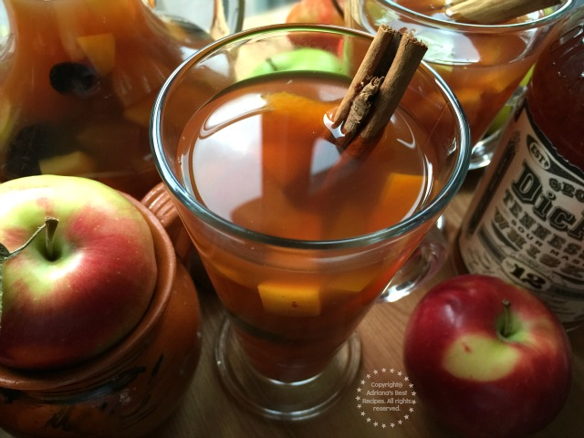 Mexican Holiday Fruit Punch Or Ponche