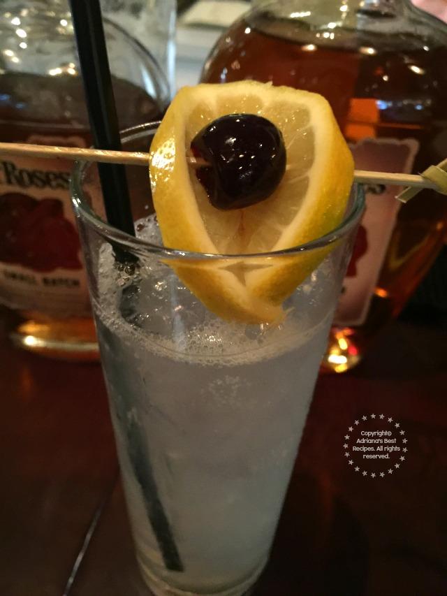 Russian Standard Vodka with Cucumber and Lemonade Soda