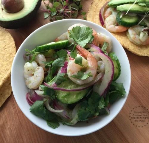 Shrimp Aguachile Adrianas Best Recipes