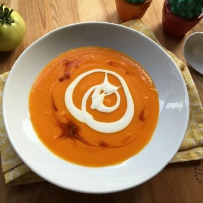 Crema de Zanahoria y Cúrcuma