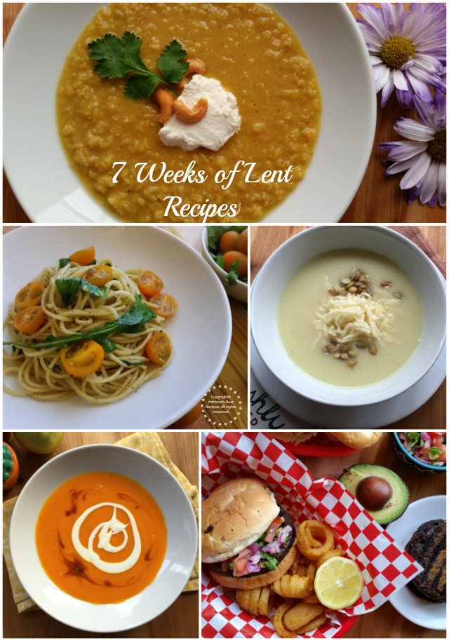 Welcome to the 7 Weeks of Lent Recipes