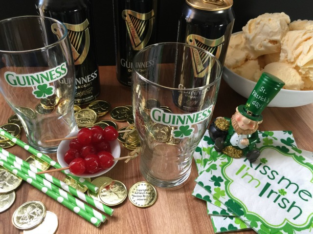 Ingredients for the Guinness Shake