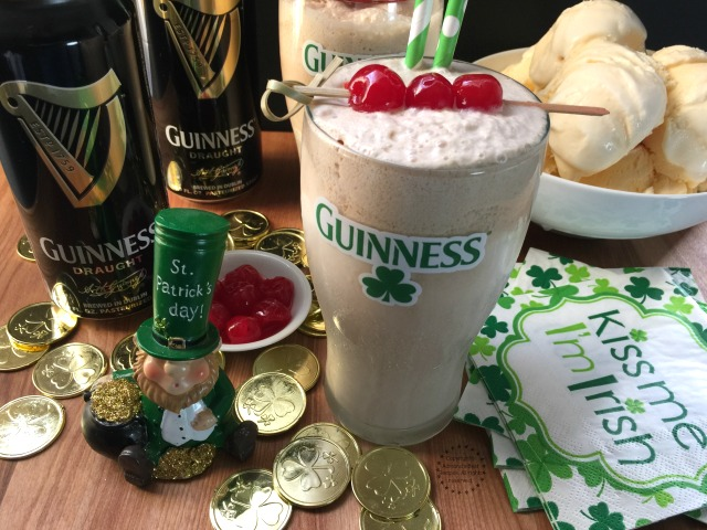 The Guinness Shake a tasty drink to celebrate St Patricks Day this March 17th