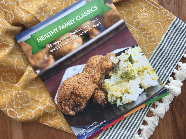 Produce for Kids New Cookbook Healthy Family Classics