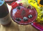 Spicy Blackberry Wine Rita with Sutter Home Sweet Red Wine