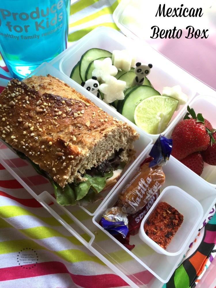 Lonchera Bento a la Mexicana una idea genial para el almuerzo escolar