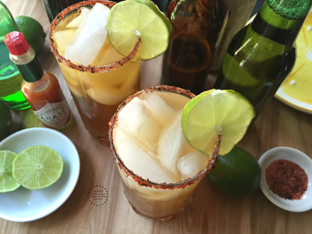 Refreshing Micheladas, perfect pairing for a taquiza