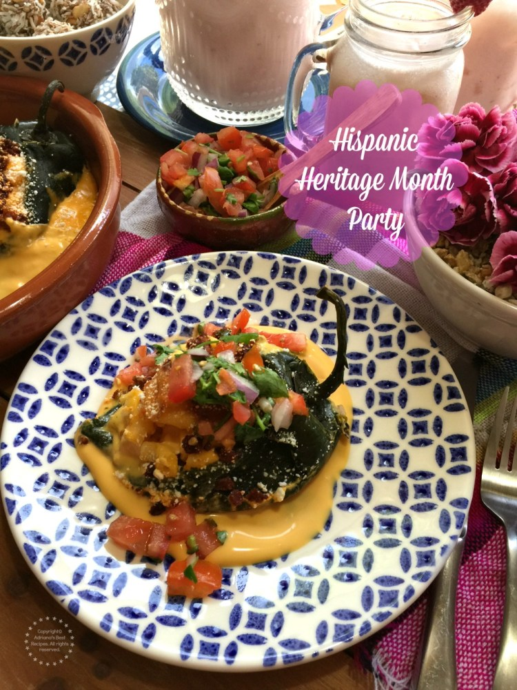 Hispanic Heritage Month Party Menu with NESTLE
