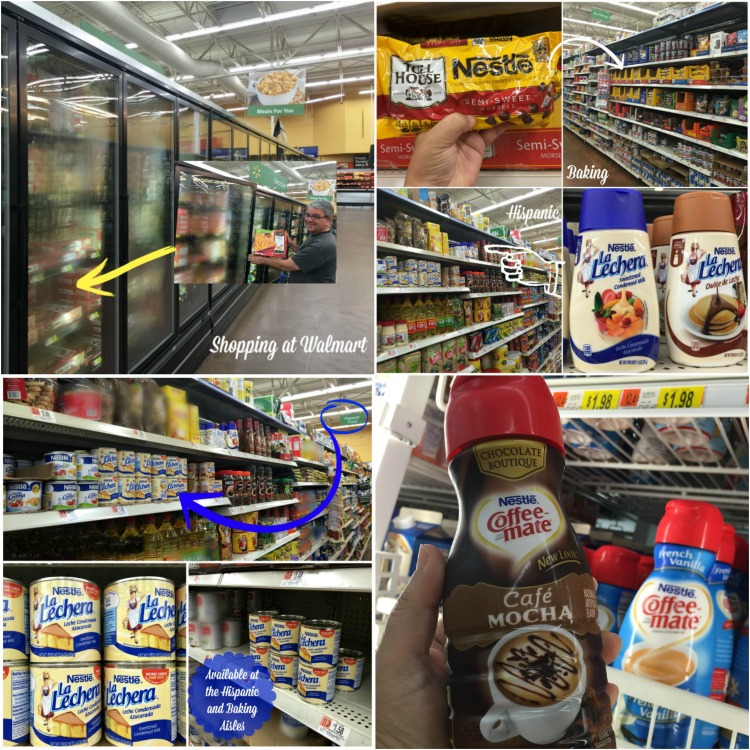 Stop by Walmart to purchase your favorite NESTLE products