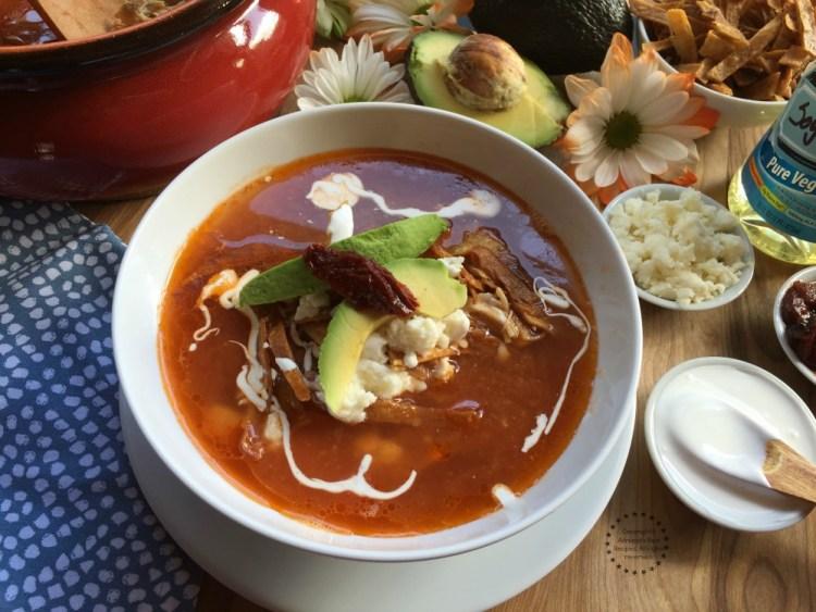 Caldo Tlalpeno Soup a classic Mexican cuisine recipe