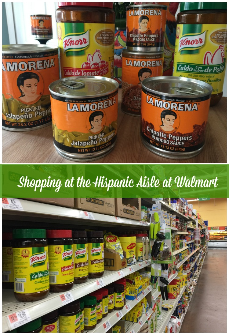 I always find my favorite Knorr® and La Morena® products at Walmart at Hispanic aisle