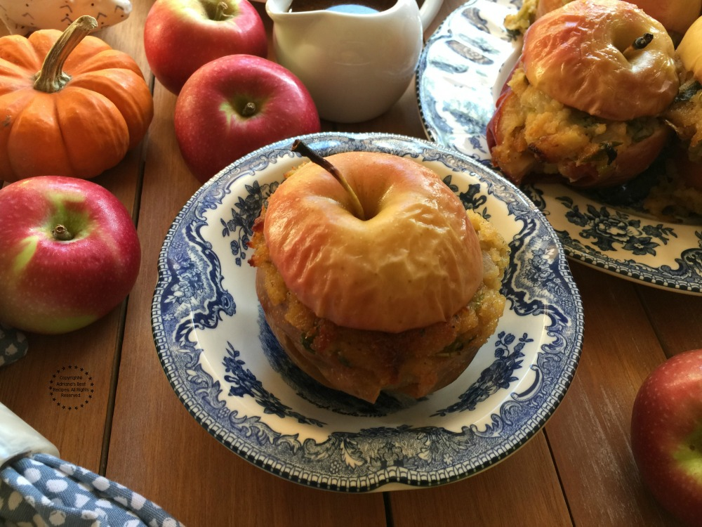 Stuffing Stuffed Apples Side Dish
