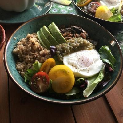 Platillo Mexicano Vegetariano