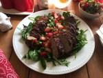 Delicioso Lomo de Cerdo con Fresas y Jalapeños con el perfecto balance de sabores