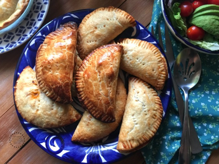 Flavorful Spanish Salmon Empanadas for your lent menu
