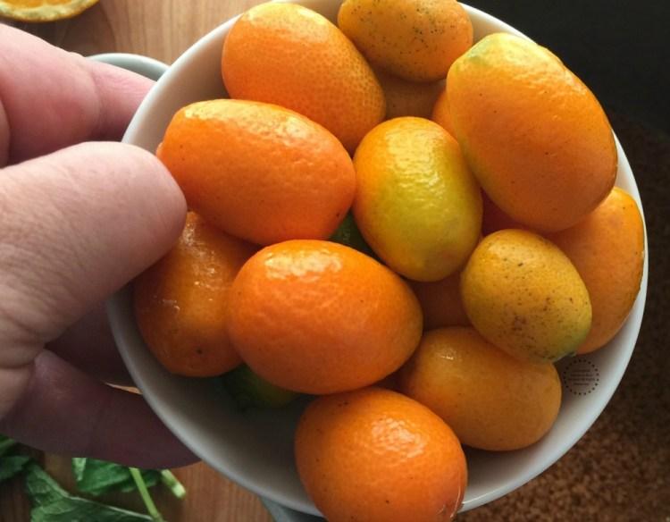 Fresh kumquats from Florida