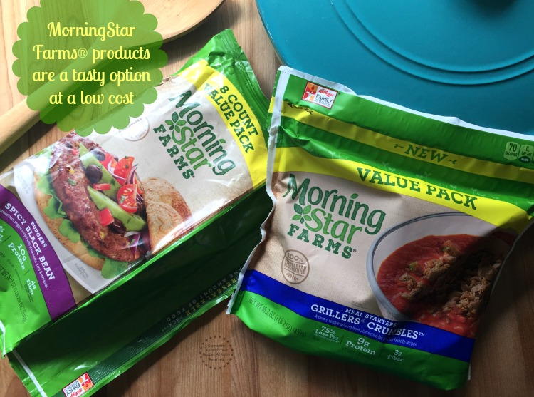 MorningStar Farms products are a tasty option at a low cost