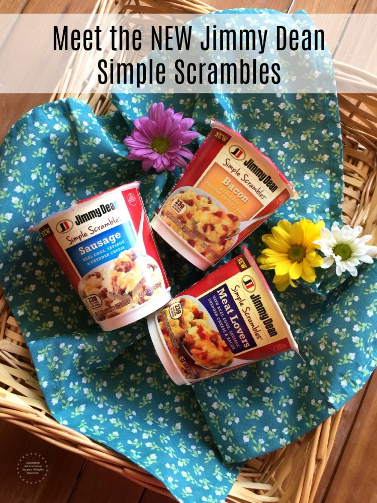 Meet the NEW Jimmy Dean Simple Scrambles Available at Walmart