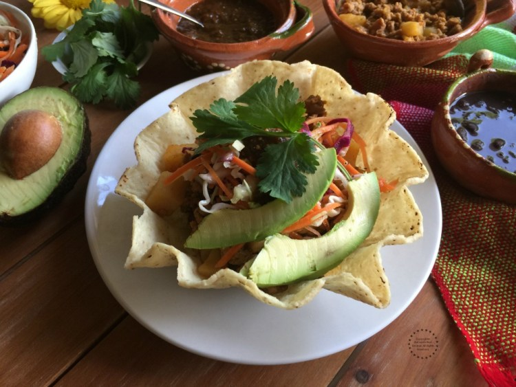 Perfect bowl to satisfy the craving for Mexican inspired food