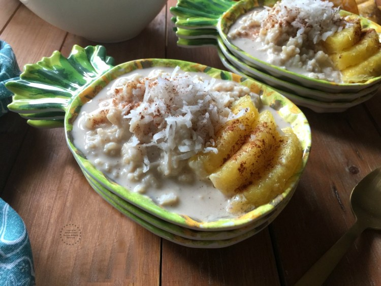 Pineapple Coconut Rice Pudding Recipe