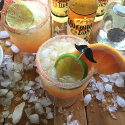 Mexican Beer Paloma Cocktail