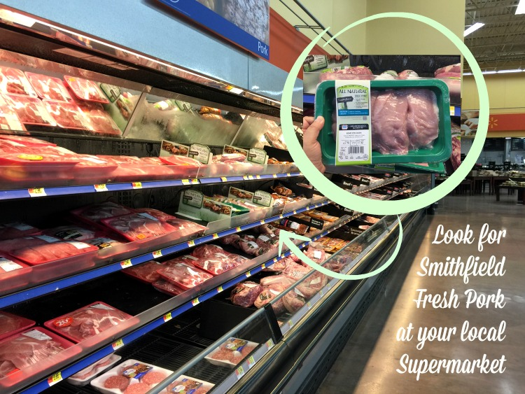 Look for Smithfield Fresh Pork at your local store