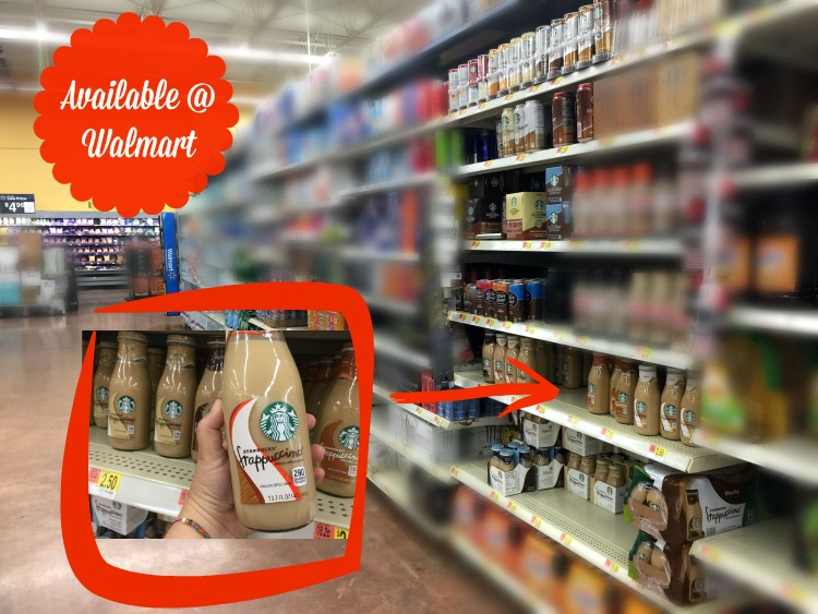 NEW Starbucks® Bottled Frappuccino® Dulce De Leche flavor available at Walmart