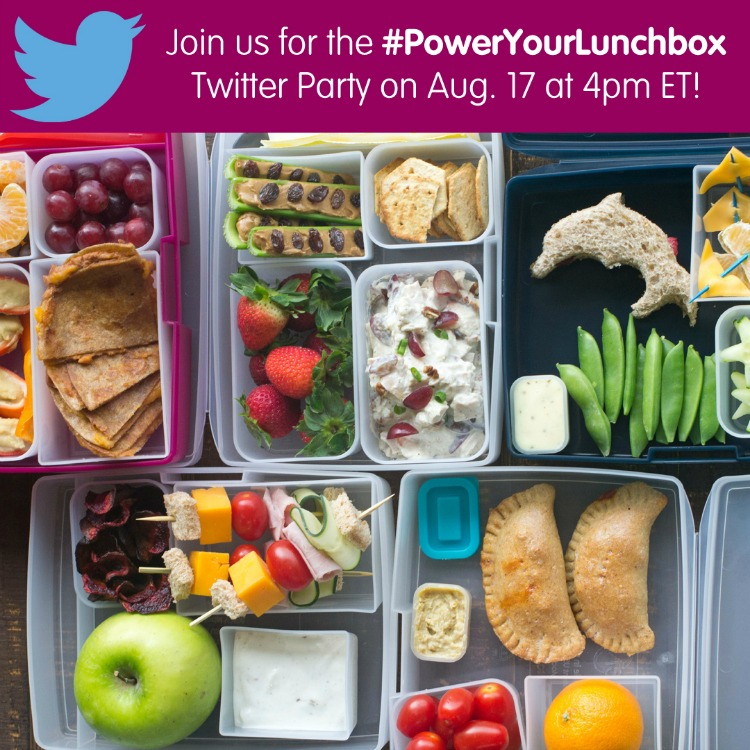 Acompáñanos en el PowerYourLunchbox Twitter Party