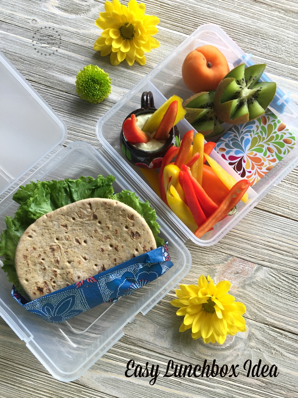 This back to school season we are proposing an easy lunchbox idea for powering our lunchbox and taking the pledge for packing a healthier yummy lunch