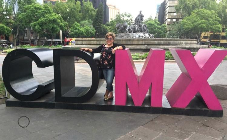 Adriana Martin enjoying at CDMX