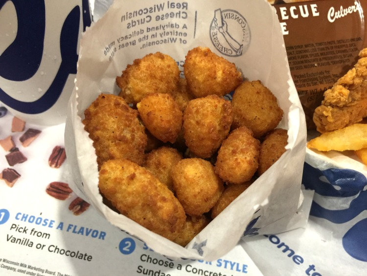 Celebrating National Cheese Curd Day at Culvers
