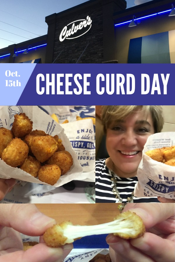 National Cheese Curd Day Experience at Culvers