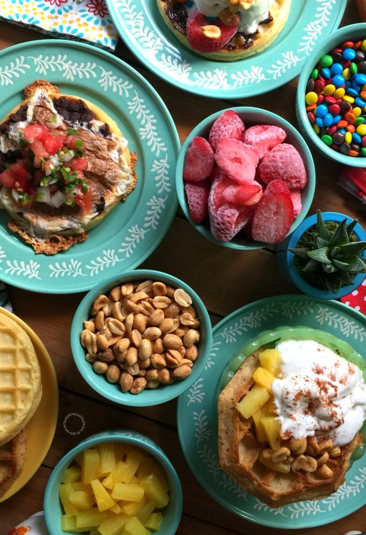 Waffle Breakfast Dinner Fun with the Family