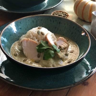Green Pepian Turkey Dinner