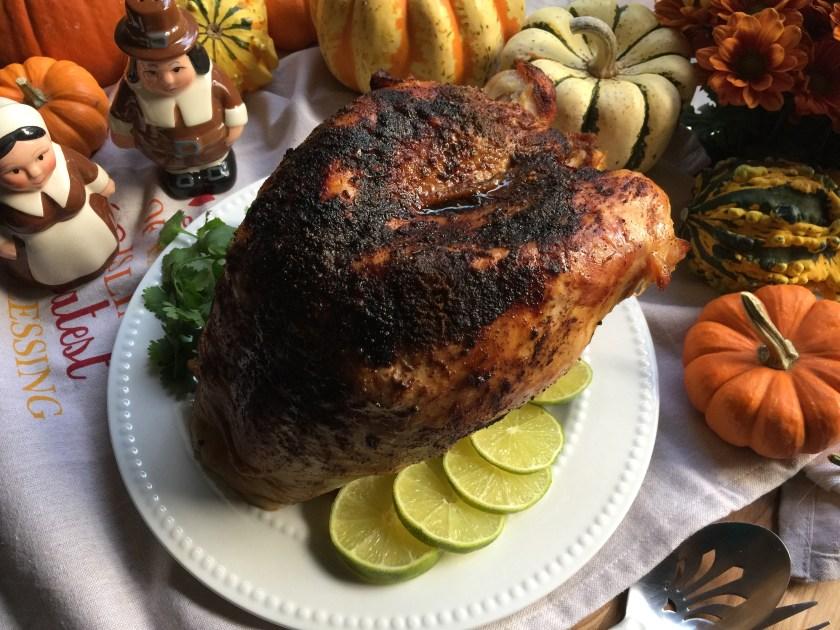 Pavo al estilo latino para el Thanksgiving
