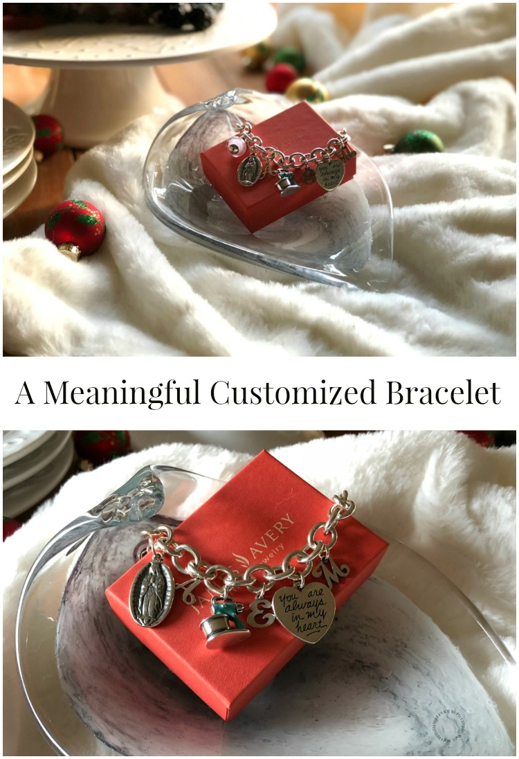 A meaningful customized bracelet from James Avery Artisan Jewelry