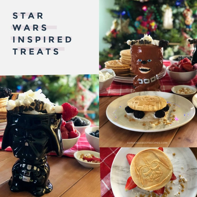 Star Wars Inspired Treats include Mexican Hot Cocoa and Pancake Ice Cream Sandwiches