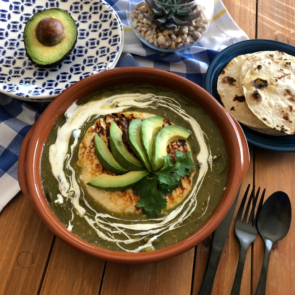 Serving the grilled queso fresco with warm corn tortillas